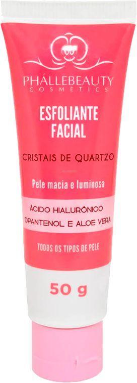 Esfoliante Facial Cristais De Quartzo Phallebeauty