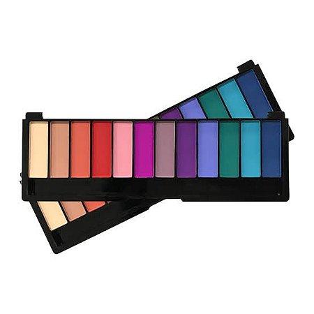 Paleta De Sombras Color Shock 01 Pink 21