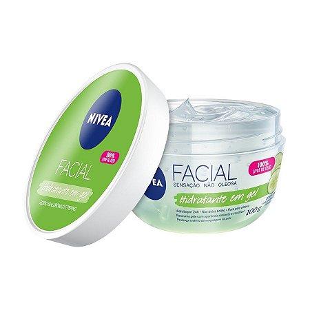 Nivea Hidratante Facial em Gel Com Acido Hialuronico e Pepino