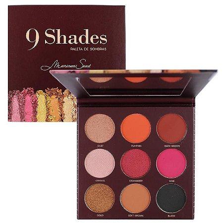 paleta de sombras 9 Shades mari Saad