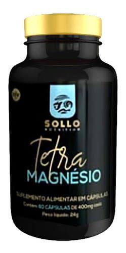 Tetra Magnésio - 60 Cápsulas