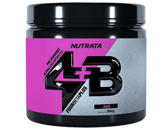 Four Beta Plus Pre Workout - 300g Nutrata