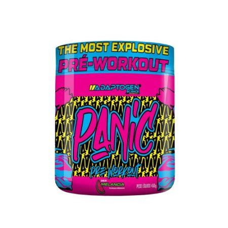 Panic Pré Treino 450g- Adaptogen Science