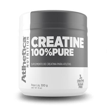 CREATINA 100% PURE (300G) ATLHETICA NUTRITION