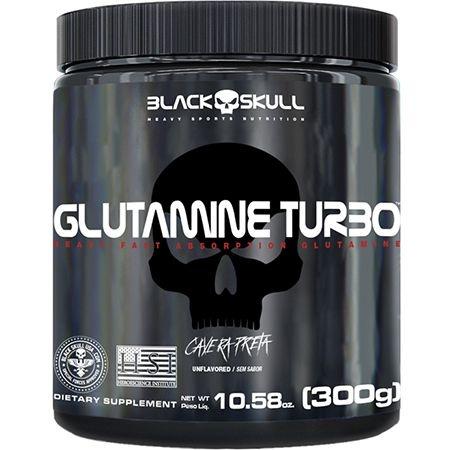 GLUTAMINA TURBO BLACK SKULL 300G