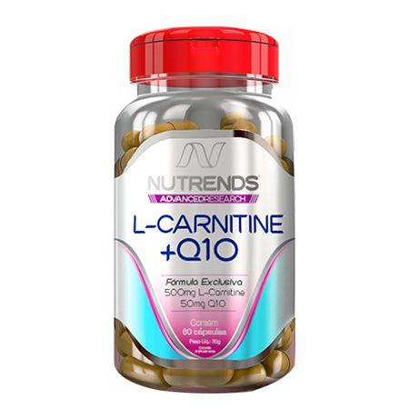 L-CARNITINE + Q10 500MG 60 CÁPSULAS