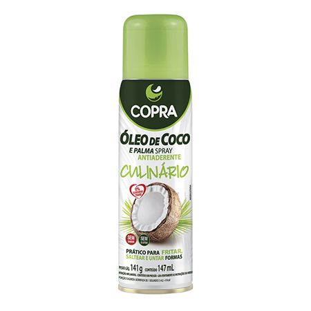 ÓLEO DE COCO SPRAY CULINÁRIO 200ml
