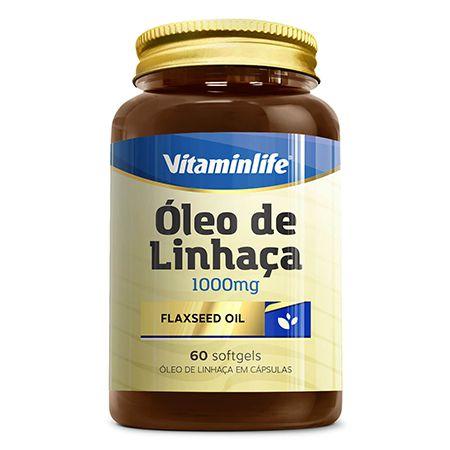 Óleo de Linhaça 1000mg (60 caps) VitaminLife