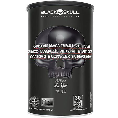 Pack Black Skull Multivitaminico 30 packs