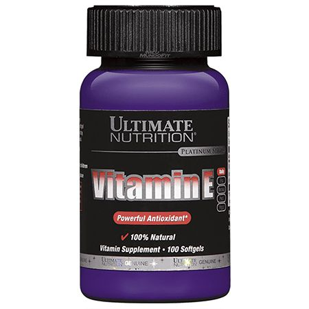VITAMIN E (100CAPS) - ULTIMATE NUTRITION