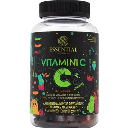 Vitamini C (60 gomas) Essential Nutrition