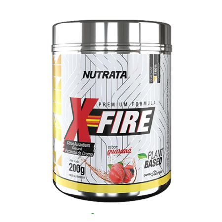 X-Fire - 200g Guaraná - Nutrata