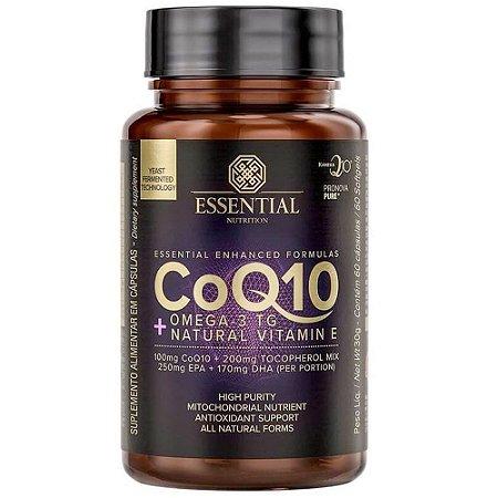 coenzima q10 100mg 60 caps essential nutrition