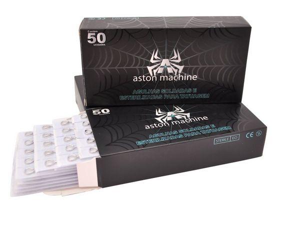 Caixa de Agulhas - Aston - Pintura Magnum c/ 50 unidades