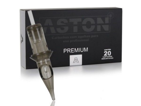 Caixa de Cartuchos - Aston Premium - Traço c/ 20 unidades