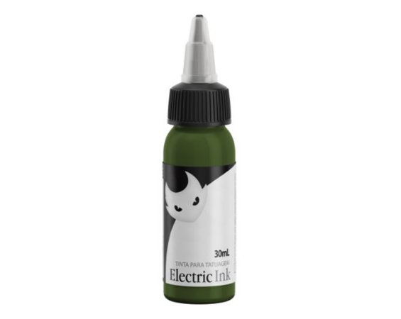 Tinta Electric Ink - Verde Musgo 30ml