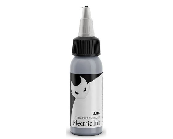 Tinta Electric Ink - Cinza Prata 30ml