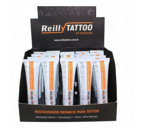 Restaurador Dérmico Para Tattto 15g - Reilly caixa c/ 20 unidades