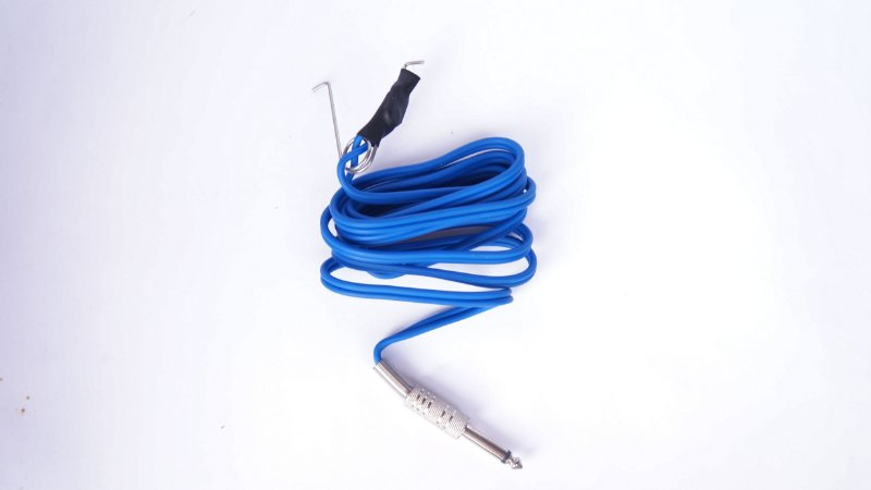 Cabo Clip Cord Plug (P10) Azul - New Fontes