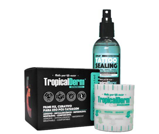 Kit Tropical Derm - Sealing 120ml + Film Fix 5cmX5m