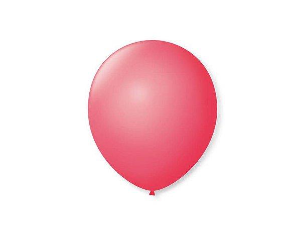 Balão Liso nº9 New Pink com 50 unid.
