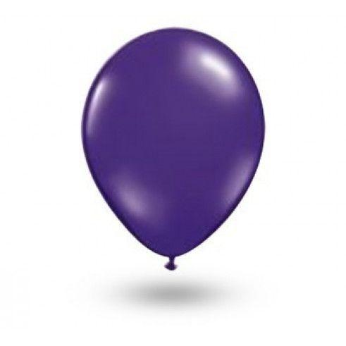 Balão liso nº9 Roxo Uva com 50 unid.