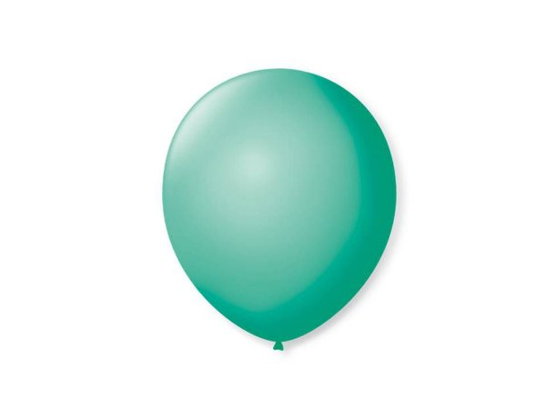 Balão liso nº5 Tiffany com 50 unid.