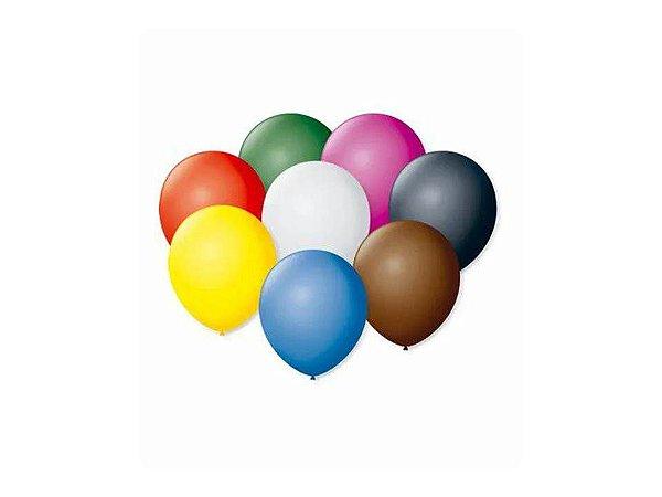 Balão 5 Perolado Redondo Sortido 50 Unidades