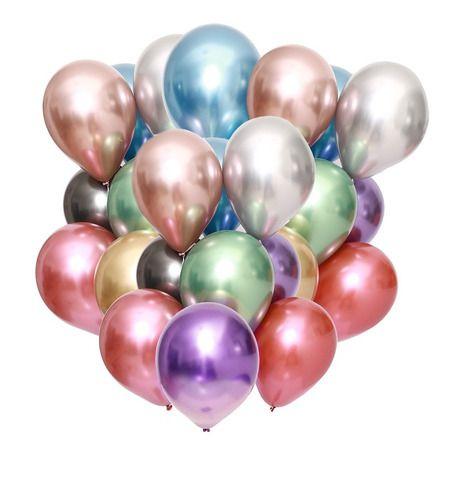 Balões Sortidos nº Metalizados Balloon com 25 unid.