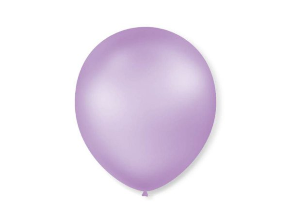 Balão Lilás Perolado Nº7 com 50 unid.