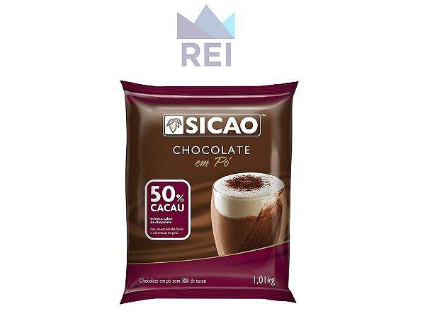 Chocolate em Pó 50% Sicao 1,01kg