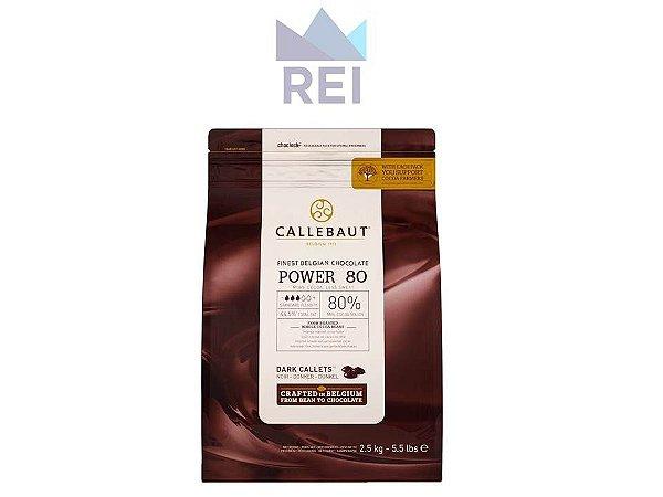 Chocolate em Gotas 80% Callebaut 2,5kg