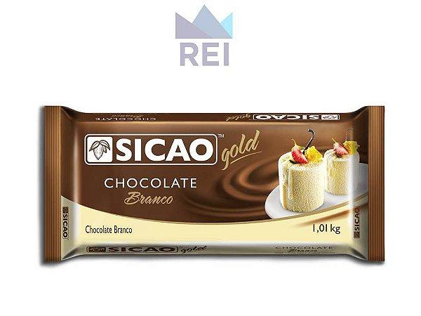 Chocolate Branco em Barra Sicao 1,01kg