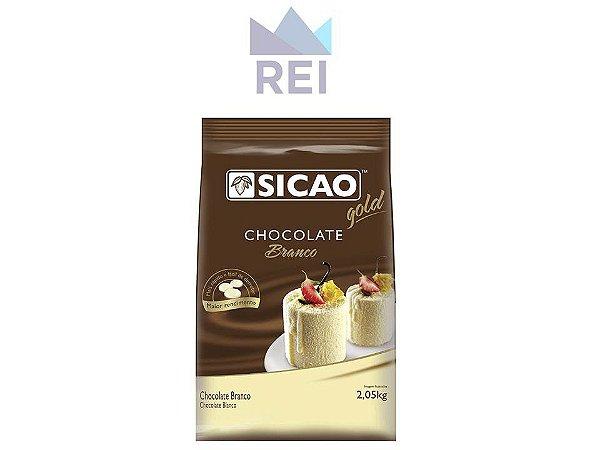 Chocolate Branco em Gotas Sicao 2,05kg