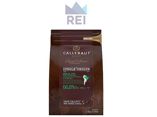 Chocolate em Gotas 66,8% Single Origin Brazil Callebaut 2,5kg