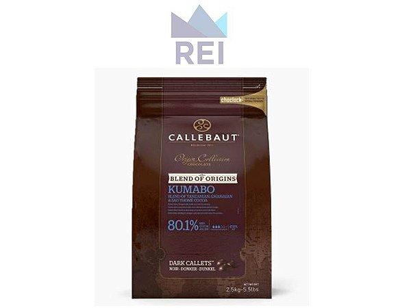 Chocolate Amargo em Gotas 80% Kumabo Callebaut 2,5kg