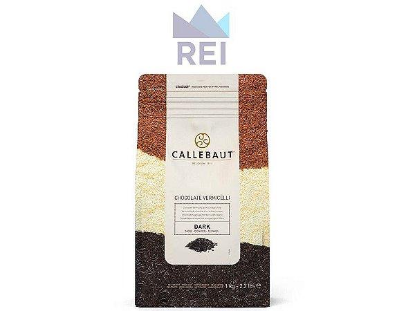 Granulado Chocolate Amargo Vermicelli Callebaut 1kg