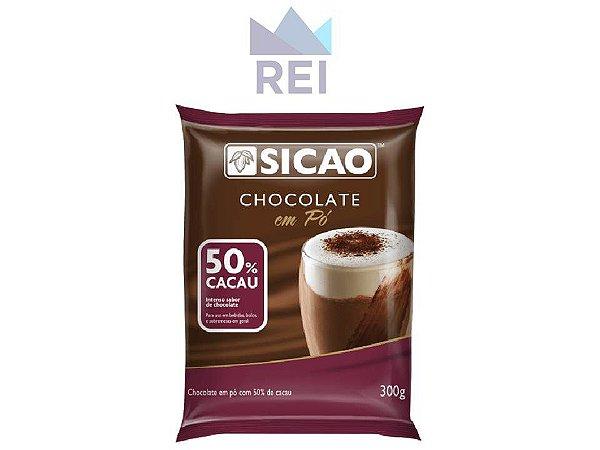 Chocolate em Pó 50% Sicao 300gr