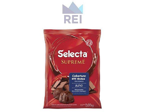 Cobertura Chocolate Blend em Gotas Selecta 1,01kg