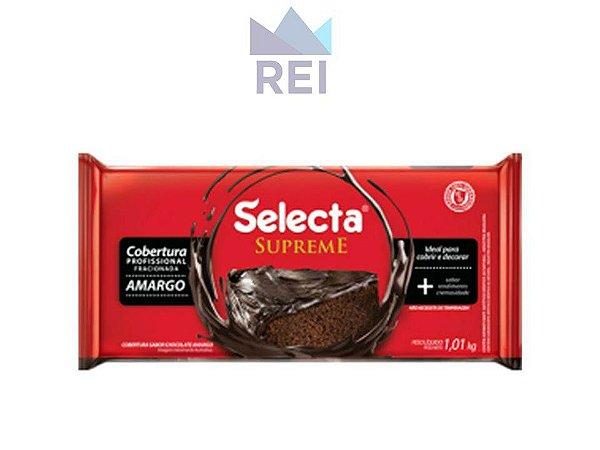 Cobertura Chocolate Amargo em Barra Selecta 1,01kg