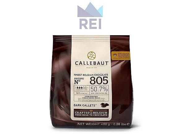 Chocolate em gotas 50,7% Callebaut 400gr