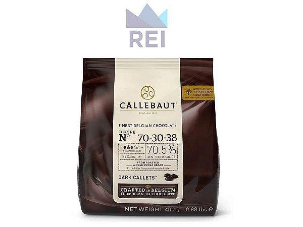 Chocolate em Gotas 70,5% Callebaut 400gr