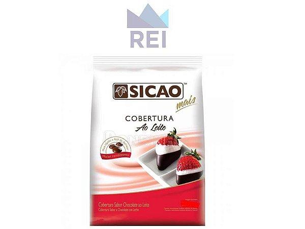 Cobertura Chocolate Fracionado ao Leite em Gotas Sicao 1,01kg