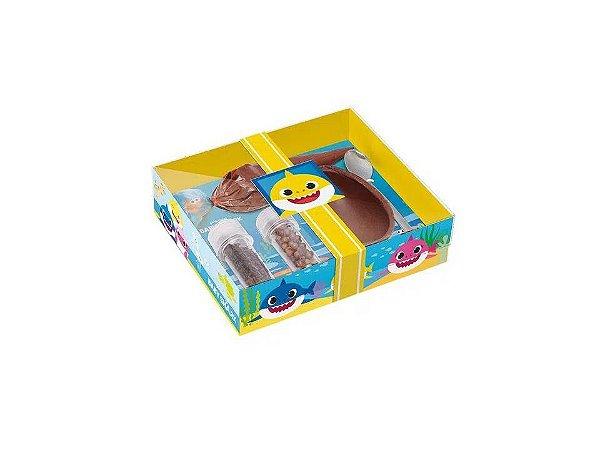 Caixa Kit Confeiteiro Baby Shark 100g