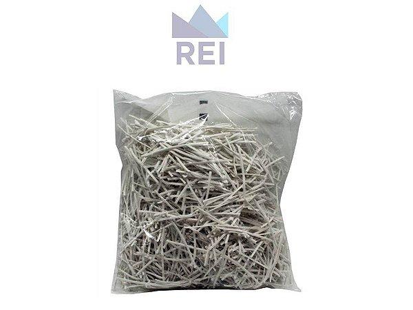 Fecho Plástico Branco pacote aproximadamente 1Kg