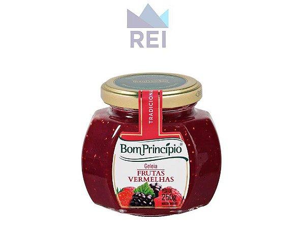 Geleia Gourmet Frutas Vermelhas 250g Bom Princípio