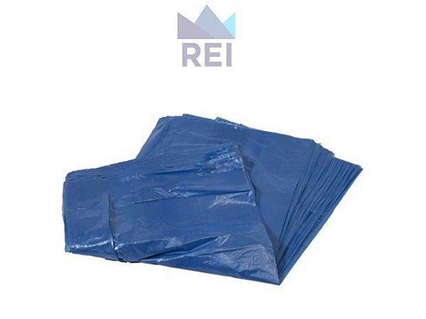 Saco de Lixo Azul Leve 100Lt 1,5Kg com 100 unidades