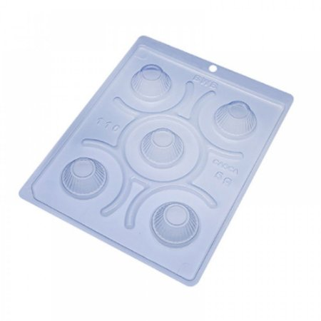 Forma de acetato com silicone Mini Cupcake Festa 110 BWB