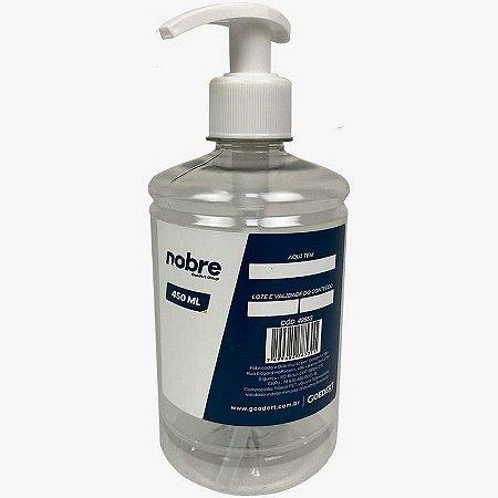 Frasco com Válvula Pump 450ml para Álcool ou Sabonete Nobre