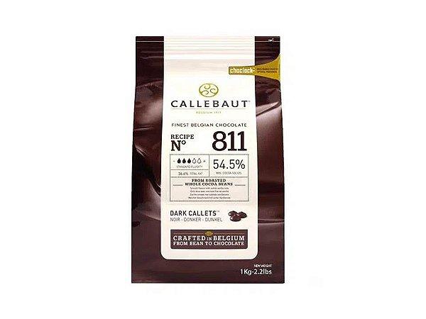 Chocolate Amargo Gotas 54,5% Callebaut 2,2Kg